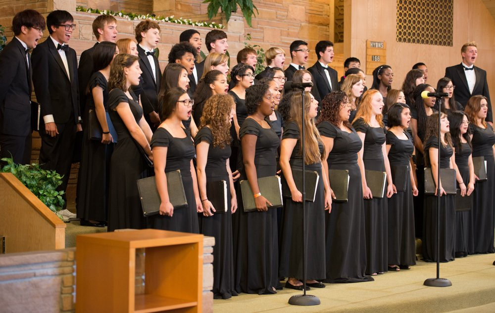 Chorale Singing in Church - sing singing performance music choir chorale rio lindo