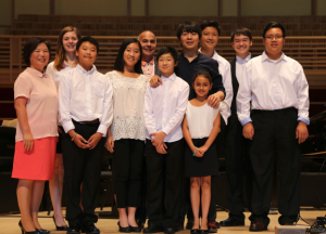 Students Attend Piano Event with Pianist Lang Lang
